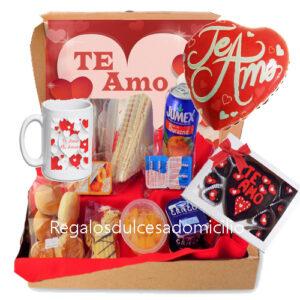 desayuno día del amor a domicilio en santiago